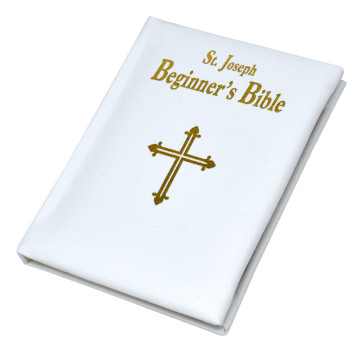 St. Joseph Catholic Beginners Bible - White