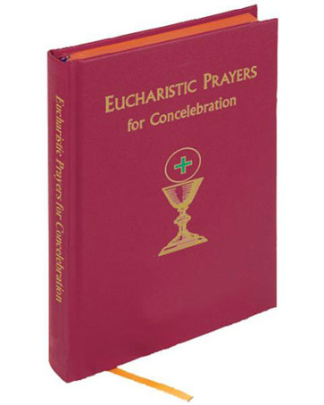 Eucharistic Prayers for Concelebrating Book