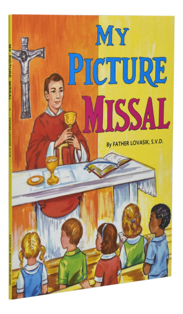 My Picture Missal Catholic Book