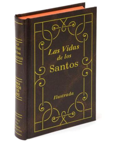 Las Vidas De Los Santos Catholic Book