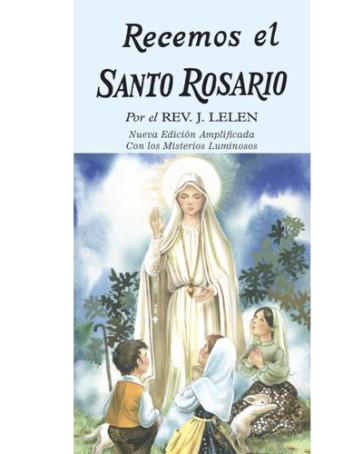 Recemos El Santo Rosario Catholic Booklet