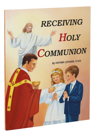 Receiving Holy Communion Catholic Book
