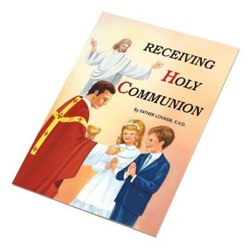 Receiving Holy Communion Catholic Book