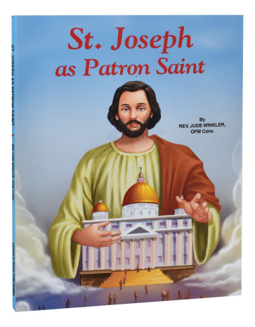 Saint Joseph as Patron Saint Catholic Book
