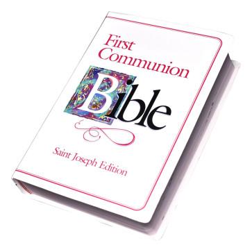 St. Joseph First Communion Catholic Bible for Girls