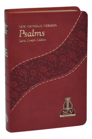 The Psalms - New Catholic Version - Burgundy