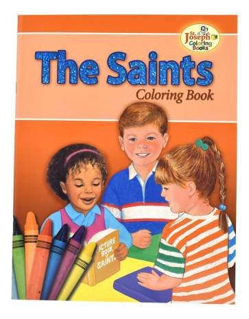 Catholic Coloring Book of the Saints