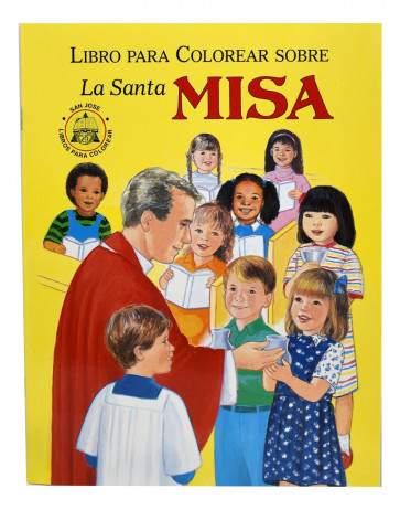 La Santa Misa Coloring Book