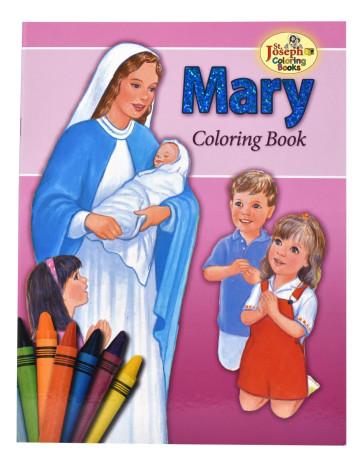 Mary Coloring Catholic Book