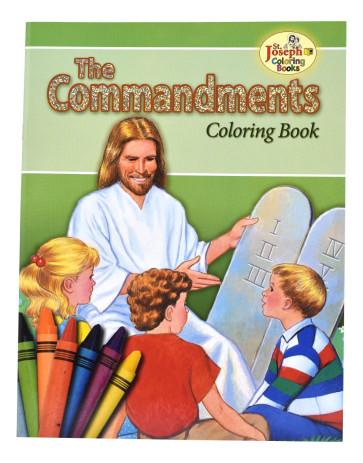 Coloring Book Commandments