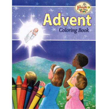 Advent Coloring Book