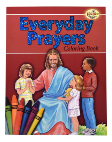 Coloring Book About Everyday Catholic Prayers