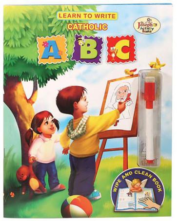 Learn To Write Catholic ABC Book