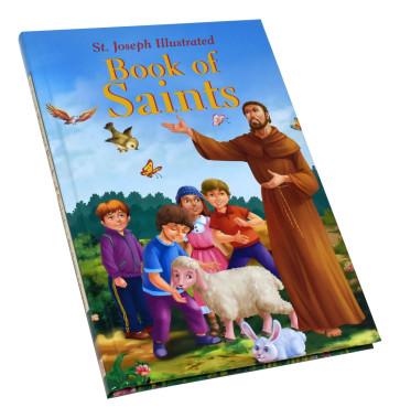 St. Joseph Illustrated Book of Saints