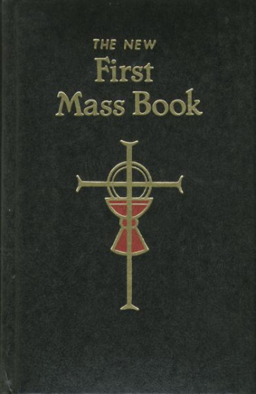 First Mass Book - Black Cover