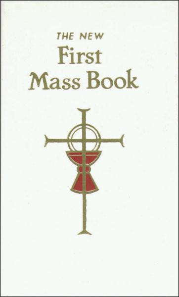 First Mass Book - White Cover