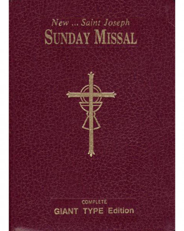 Sunday Missal Catholic Book