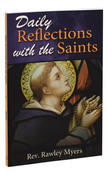 Daily Reflections with the Saints Catholic Book