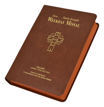 St Joseph Weekday Missal Large Type Volume I