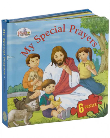 My Speacial Prayers Catholic Puzzle Book