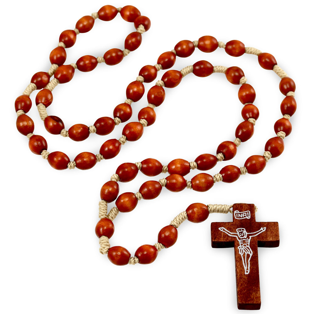 brown rosary - O'Connors Church Supply  |Brown Rosaries