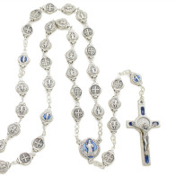 Saint Benedict Rosary Gift Set with Key Chain