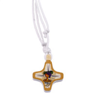 First Communion Cross Pendant with Bookmarker