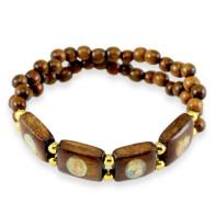 Sandalwood Rosary Bracelet