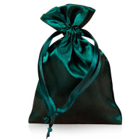 Forest Satin Rosary Pouch