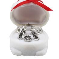 Nativity Scene Miniature in Christmas Polar Bear