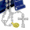 Our Lady of Miracles Sterling Silver Filigree Beads Rosary