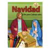 Libro para Colorear sobre Navidad