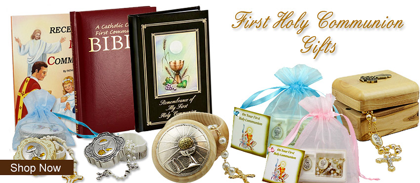 First Holy Communion Gifts | Rosary Mart.com