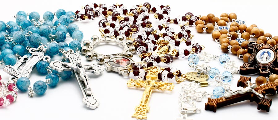 Rosaries | Rosary Bracelets | Catholic Gifts at Rosarymart com