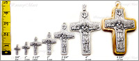 Pope Francis Cross comparison chart.